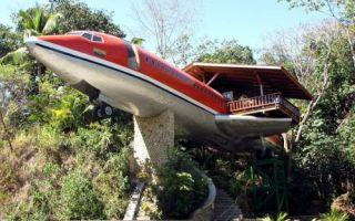 Архитектура: Отель-самолет посреди джунглей Коста-Рики, куда в гости запросто могут нагрянуть ленивцы или говорящие попугаи