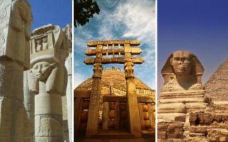 Архитектура: 10 сооружений из прошлого, которые считались старыми даже для древних египтян и греков
