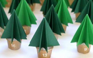 Новогодние адвент календари: 10 идей