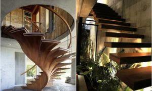 Идеи вашего дома: 20 дизайнерских лестниц, которые способны стать основным элементом в интерьере