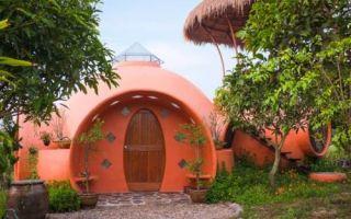 Архитектура: Купольный дом, который музыкант умудрился построить за полтора месяца и 9 тыс. дол.