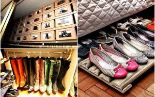 Идеи вашего дома: 12 идей для тех, кто не знает, куда спрятать сезонную обувь