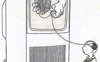 Телевизор сродни наркотику