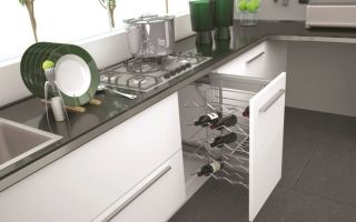 Выбираем внутреннее наполнение кухонного гарнитура