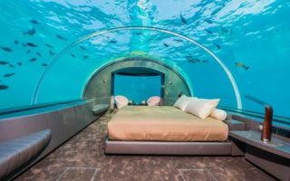 Архитектура: На Мальдивах наконец-то открылась первая в мире подводная вилла