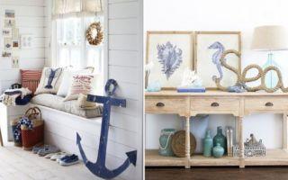 Идеи вашего дома: 25 способов создать прихожую в стиле домика на морском побережье