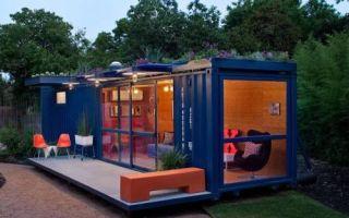 Архитектура: От дачных домиков до пафосных особняков: грузовые контейнеры как дешевая альтернатива кирпичу и бетону
