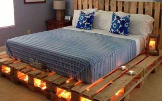Идеи вашего дома: 23 идеи, как из обычных поддонов сделать кровати с минимальными финансовыми затратами