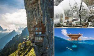 Архитектура: Фантастические отели мира, в которые хочется возвращаться снова и снова