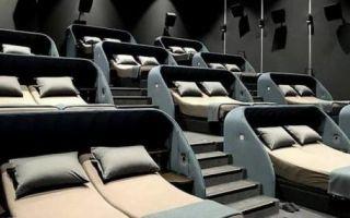 Архитектура: В Швейцарии открылся новый кинотеатр, в котором вместо кресел двуспальные кровати