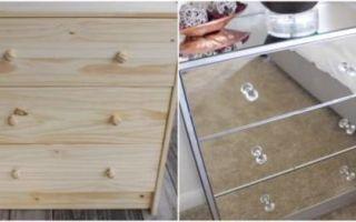 Идеи вашего дома: Как превратить скучный комод из IKEA в настоящую дизайнерскую мебель: мастер-класс от находчивой хозяйки