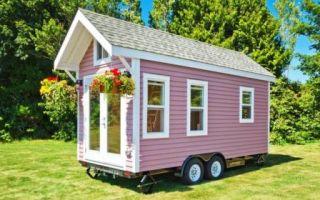 Архитектура: Крошечный домик в 15 кв м.: прекрасный вариант для дачи или поездок на море