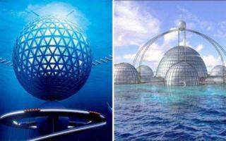 Архитектура: 7 важных фактов о будущих подводных городах, о которых не мешало бы знать уже сейчас