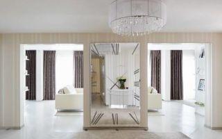 Зеркала в интерьере: виды, формы, расположение