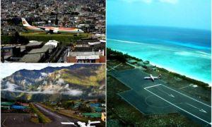 Архитектура: 12 экстремальных аэропортов, приземляться в которых то еще «удовольствие»
