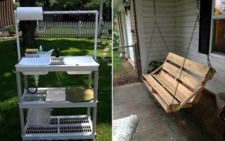 Идеи вашего дома: 17 полезнейших поделок для дачи и сада, которые сможет сделать каждый