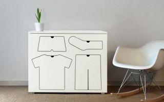 Хранение одежды в детской комнате