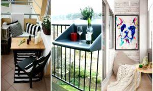 Идеи вашего дома: 15 блестящих идей, которые помогут преобразить даже самый маленький балкон