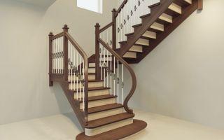 Изготовление и монтаж деревянных лестниц
