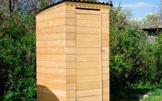 Туалет для дачи по каркасной технологии