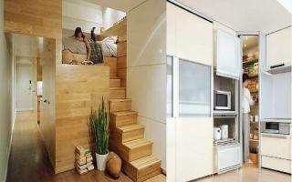 Идеи вашего дома: Как организовать хранение вещей в крохотной квартире и при этом не устроить свалку