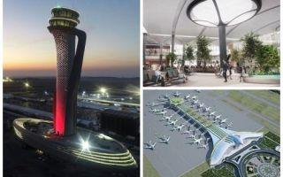 Архитектура: В Турции открылся грандиозный аэропорт стоимостью 11,7 млрд дол., который станет крупнейшим в мире