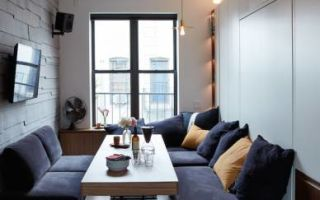 Компактная квартира в Сохо, 32,5 м²