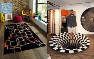 Идеи вашего дома: 3D напольные покрытия, которые вскружат голову и дезориентирует в пространстве