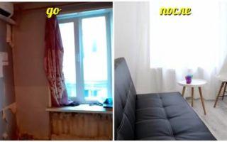 Идеи вашего дома: Стильное преобразование, или Как одесситы квартиру площадью 13 кв м превратили в полноценное жилье