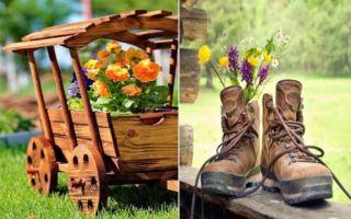 Идеи вашего дома: Как создать очаровательные цветочные клумбы из подручных средств, чтобы соседи обзавидовались