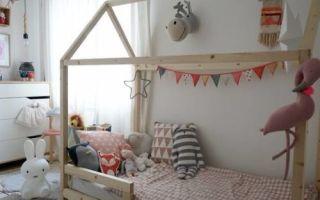 Кровать-домик для ребенка: как сделать кровать-домик своими руками для мальчика или девочки