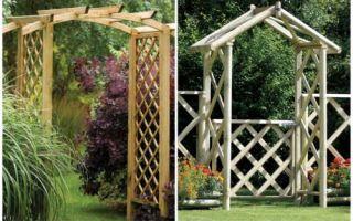 Идеи вашего дома: Сохраняя традиции: Классические арки для садового участка в современном исполнении