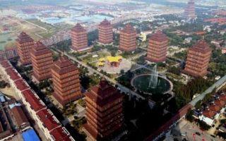 Архитектура: В Китае есть деревня, где каждый житель стал миллионером