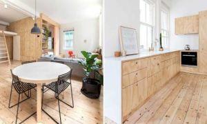 Идеи вашего дома: Удачная перепланировка: Как с помощью фанеры 26 кв метров превратили в полноценное жилье