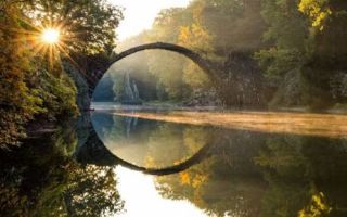 Архитектура: Чертов мост в Германии: великий гений архитектора или происки нечистого