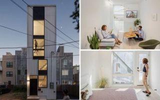 Архитектура: 5-этажка для одной семьи, построенная на крошечном клочке земли площадью 32 кв. метра