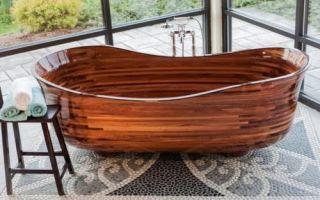 Идеи вашего дома: Американец создал коллекцию… деревянных ванн, которые можно спутать с произведениями искусства