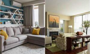 Идеи вашего дома: Идеи, которые помогут правильно использовать свободное пространство за спинкой дивана
