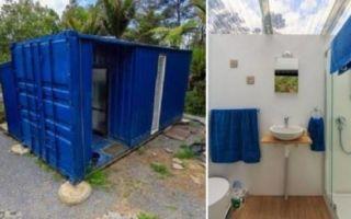 Архитектура: Дачный вариант: Предприимчивая американка смогла создать жилище из контейнера на 10 кв. метрах