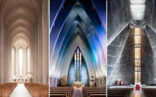 Архитектура: Модернистские церкви и храмы современности, изумляющие своей нестандартностью