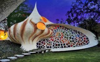 Архитектура: 11 экзотических домов, один вид которых просто приводит в ступор, а интерьер вызывает оцепенение