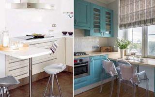 Идеи вашего дома: Барная стойка – вариант для небольшой кухоньки, где всё будет максимально комфортно