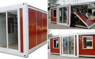 Архитектура: Модульный дом-контейнер, или Как «построить» дачу площадью 37 кв. метров за 10 минут