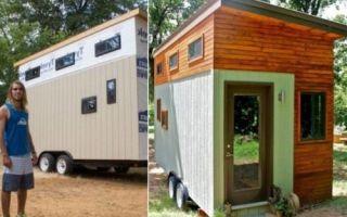 Архитектура: Чтобы не влезть в долги по аренде жилья, студент построил себе бюджетный дом на колесах