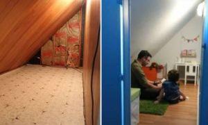 Идеи вашего дома: Родители обнаружили в своем доме скрытую комнату и задумали преподнести лучший подарок сыну