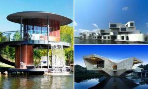 Архитектура:  7 вариантов жилья для тех, кто любит водные пейзажи и не готов отказаться от комфортной жизни