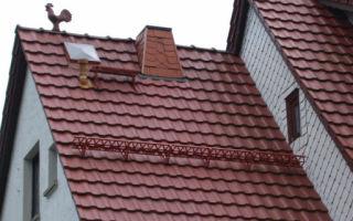Кровля крыши металлочерепицей