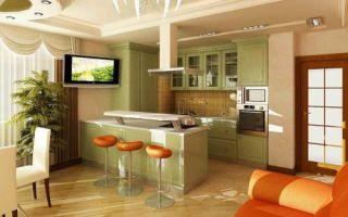 Идеи вашего дома: Как спланировать кухню в квартире-студии, чтобы она была не только удобной, но и эффектной