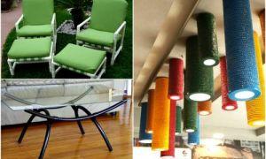 Идеи вашего дома: 18 творческих способов использования ПВХ-труб не по назначению