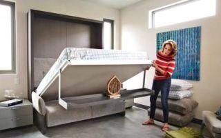 Идеи вашего дома: 12 подъемных кроватей, которые можно сделать своими руками, потратив гроши